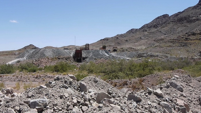 General view on Agoudal mining area