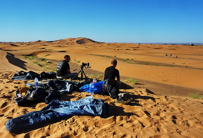 After night on Erg Chebbi