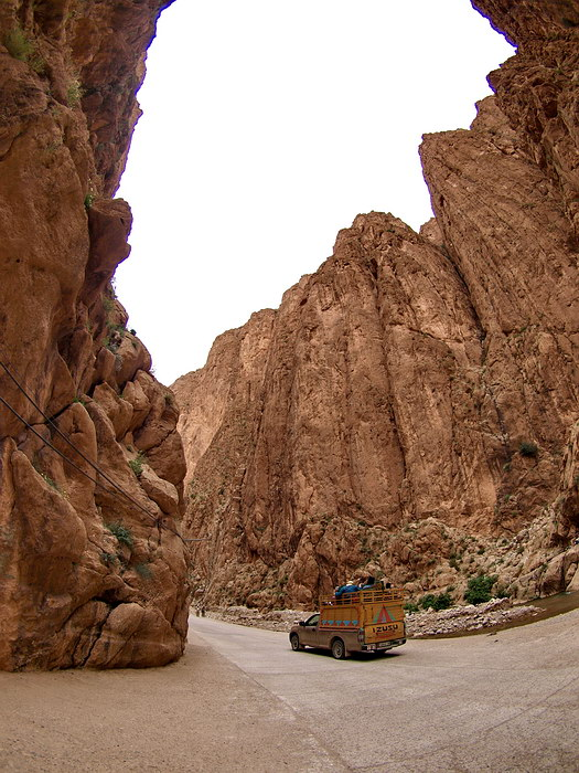 The Todra Gorge.